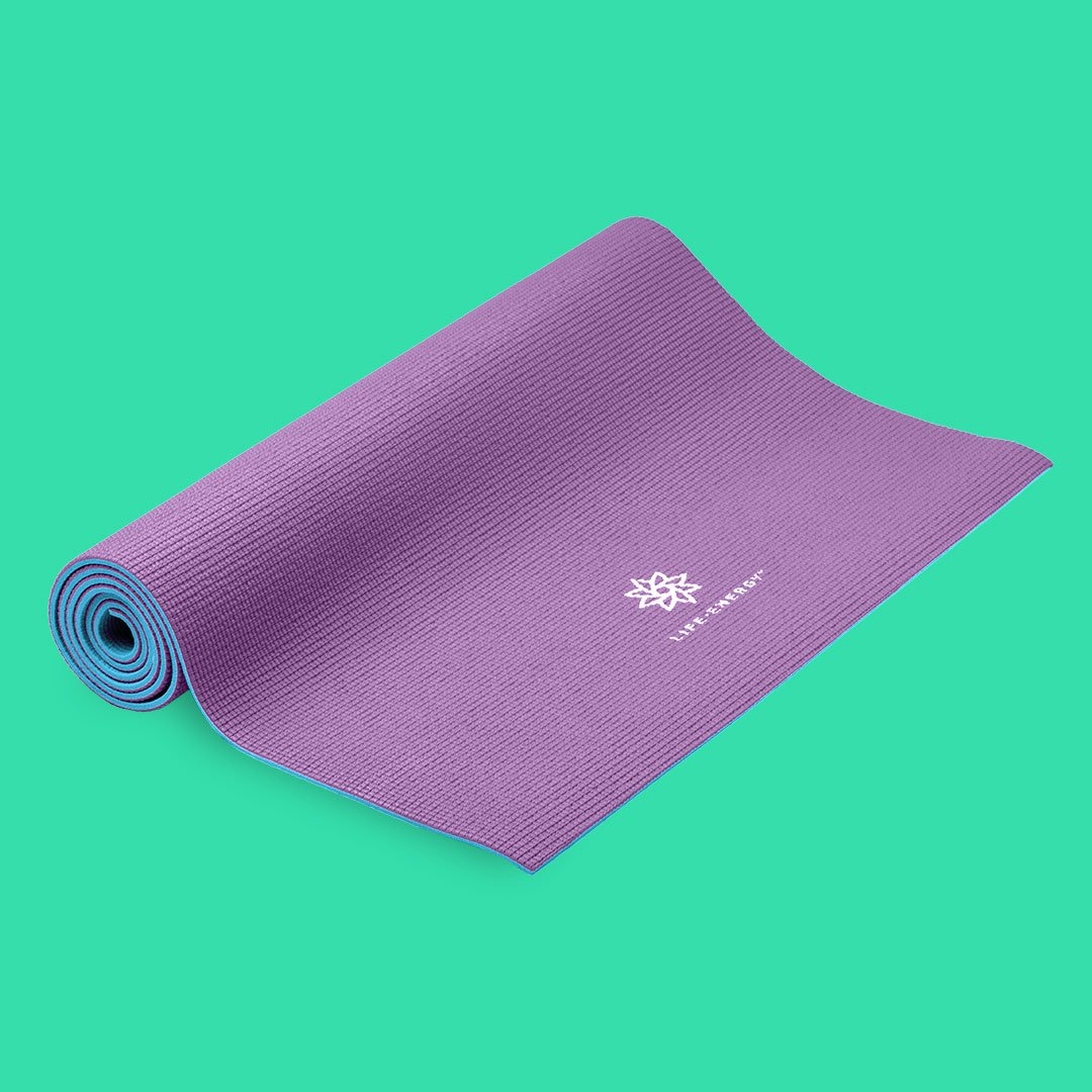 Life Energy purple yoga mat