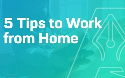 5 Tips to Work From Home