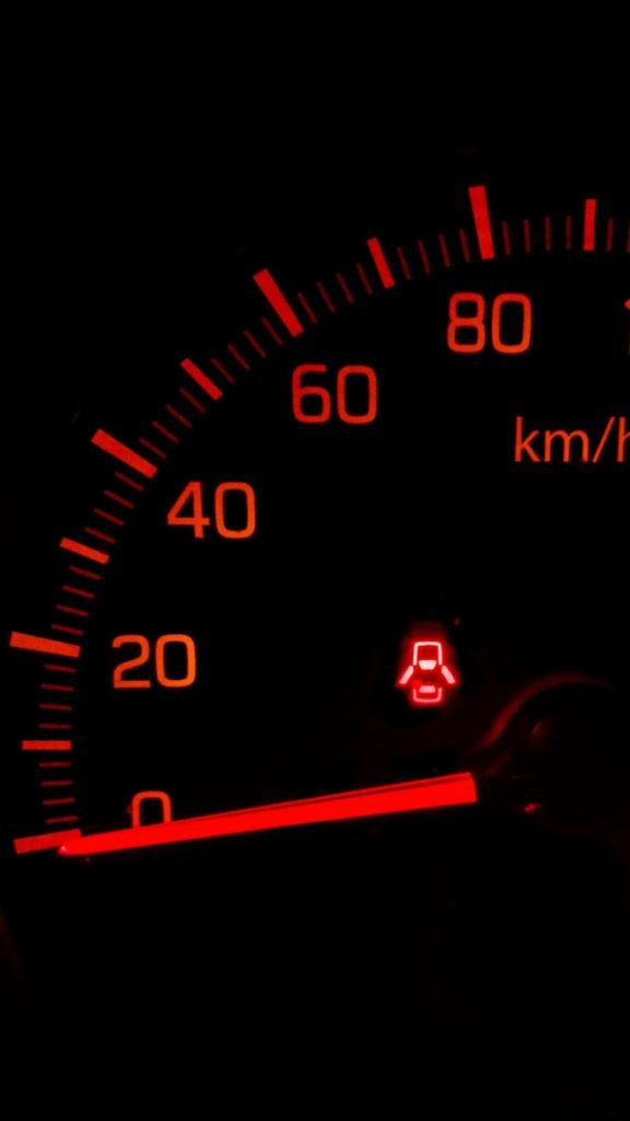 speedometer from car